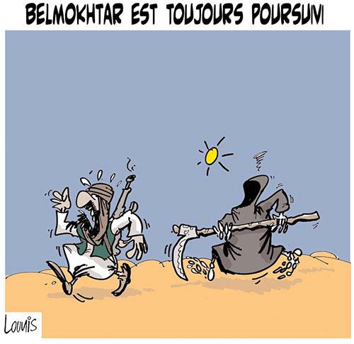 Belmokhtar toujours poursuivi - Lounis Le jour d'Algérie - Gagdz.com