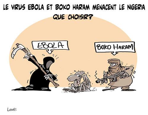 Le virus ebola et boko haram menacent le Nigeria: Que choisir ? - Lounis Le jour d'Algérie - Gagdz.com