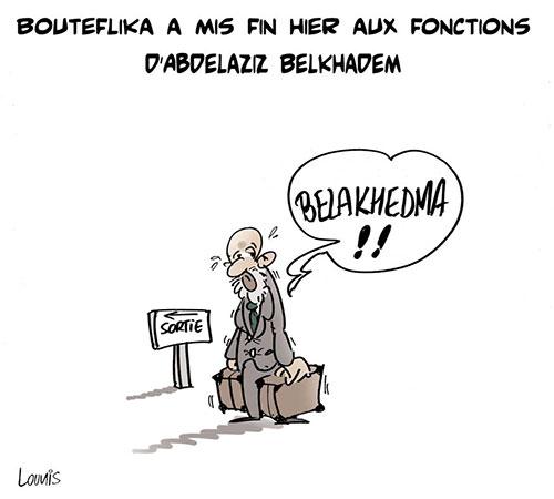 Bouteflika a mis fin hier aux fonctions d'Abdelaziz Belkhadem - Lounis Le jour d'Algérie - Gagdz.com