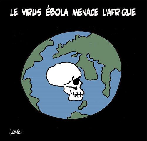 Le virus ébola menace l'Afrique - Lounis Le jour d'Algérie - Gagdz.com