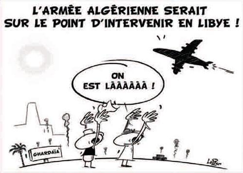 L'armée algérienne serait sur le point d'intervenir en Libye - Vitamine - Le Soir d'Algérie - Gagdz.com