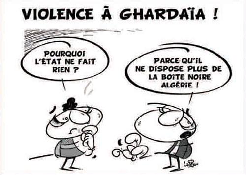 Violence à Ghardaïa - Vitamine - Le Soir d'Algérie - Gagdz.com