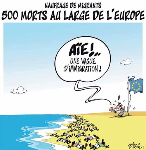 Naufrage de migrants: 500 morts au large de l'Europe