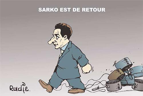 Sarko est de retour