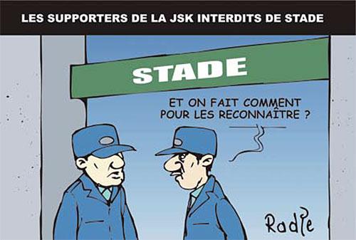 Les supporters de la JSK interdits de stade - Ghir Hak - Les Débats - Gagdz.com