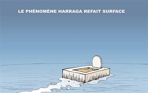 Le phénomène harragas refait surface - Ghir Hak - Les Débats - Gagdz.com