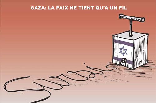 Gaza: La paix ne tient qu'à un fil - Ghir Hak - Les Débats - Gagdz.com