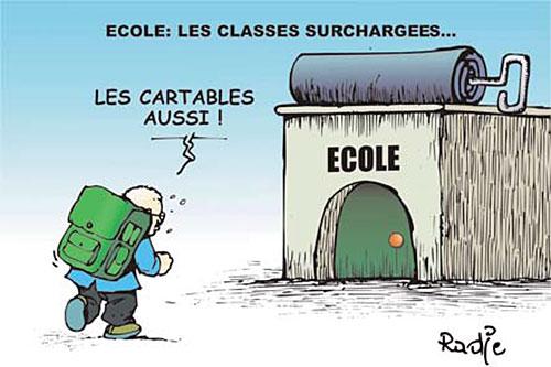 Ecole: Les classes surchargées - Ghir Hak - Les Débats - Gagdz.com