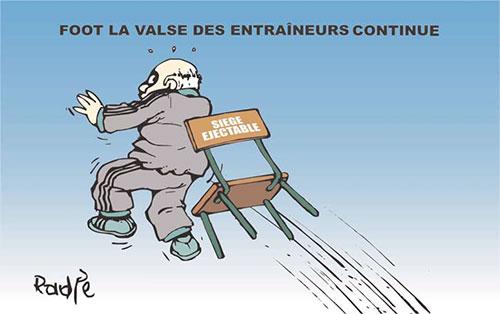 Foot: La valse des entraineurs continue - Ghir Hak - Les Débats - Gagdz.com