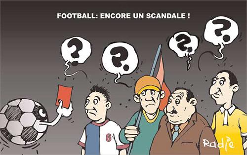 Football: Encore un scandale - Ghir Hak - Les Débats - Gagdz.com