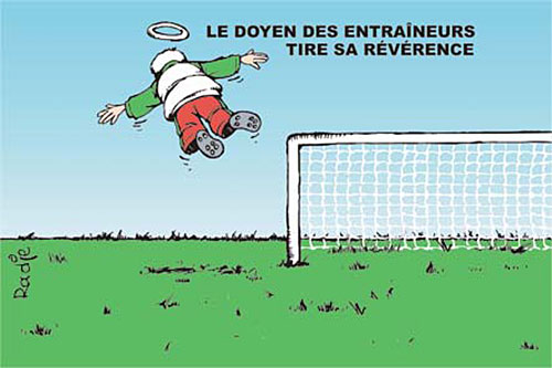Le doyen des entraineurs tire sa révérence - Ghir Hak - Les Débats - Gagdz.com