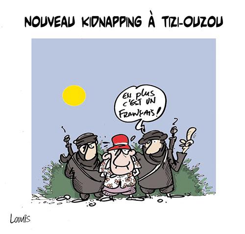 Nouveau kidnapping à Tizi-Ouzou - Lounis Le jour d'Algérie - Gagdz.com