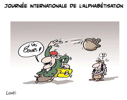 Journée internationale de l'alphabétisation - Lounis Le jour d'Algérie - Gagdz.com