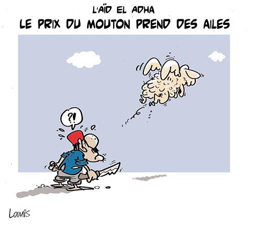 L'aïd el adha: Le prix du mouton prend des ailes - Lounis Le jour d'Algérie - Gagdz.com