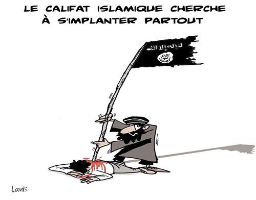 Le califat islamique cherche à s'impliquer partout - Lounis Le jour d'Algérie - Gagdz.com
