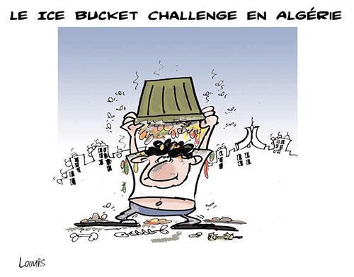 Le ice bucket challenge en Algérie - Lounis Le jour d'Algérie - Gagdz.com