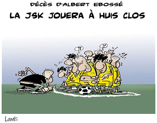 Décés d'Albert Ebossé: La JSK jouera à huis clos - Lounis Le jour d'Algérie - Gagdz.com