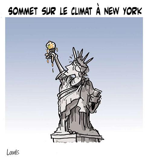 Sommet sur le climat à New York
