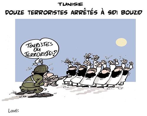 Tunisie: Douze terroristes arrêtés à Sidi Bouzid - Lounis Le jour d'Algérie - Gagdz.com