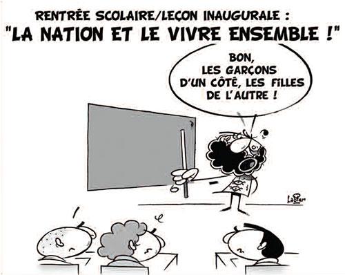 Rentrée scolaire - leçon inaugurale: La nation et le vivre ensemble - Vitamine - Le Soir d'Algérie - Gagdz.com