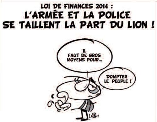 Loi de finances 2014: L'armée et la police se taillent la part du lion - Vitamine - Le Soir d'Algérie - Gagdz.com
