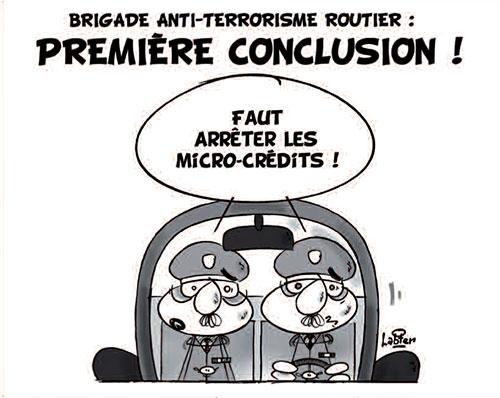 Brigade anti-terroriste routier: Première conclusion - Vitamine - Le Soir d'Algérie - Gagdz.com