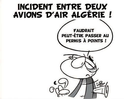 Incident entre deux avions d'air Algérie - Vitamine - Le Soir d'Algérie - Gagdz.com