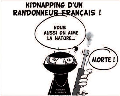 Kidnapping d'un randonneur français - Vitamine - Le Soir d'Algérie - Gagdz.com