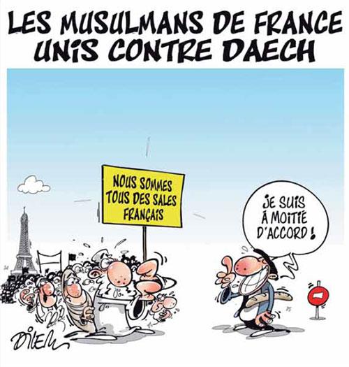 Les musulmans de France unis contre daech