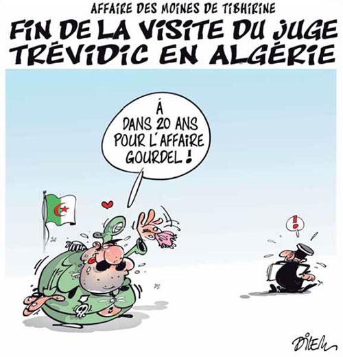 Affaire des moines de Tibherine: Fin de la visite du juge Trévidic en Algérie
