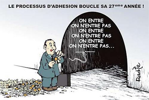 Le processus d'adhésion boucle sa 27ème année - Ghir Hak - Les Débats - Gagdz.com