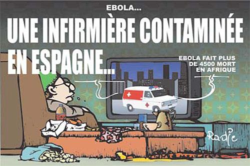 Ebola: Une infirmière contaminée en Espagne - Ghir Hak - Les Débats - Gagdz.com