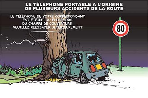 Le téléphone portable à l'origine de plusieurs accidents de la route - Ghir Hak - Les Débats - Gagdz.com