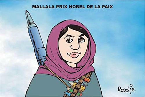 Mallala prix nobel de la paix - Ghir Hak - Les Débats - Gagdz.com