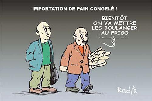 Inportation de pain congelé - Ghir Hak - Les Débats - Gagdz.com