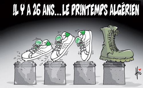 Il y a 26 ans, le printemps algérien - Le Hic - El Watan - Gagdz.com