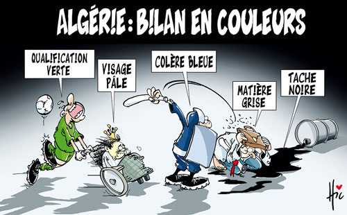 Algérie: Bilan en couleur