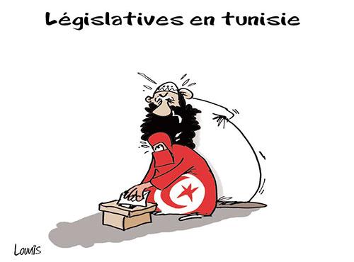 Législatives en Tunisie - Lounis Le jour d'Algérie - Gagdz.com