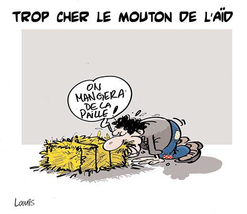 Trop cher le mouton de l'aïd - Lounis Le jour d'Algérie - Gagdz.com