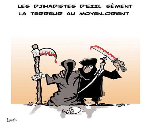 Les djihadistes d'eiil sèment la terreur au moyen-orient - Lounis Le jour d'Algérie - Gagdz.com