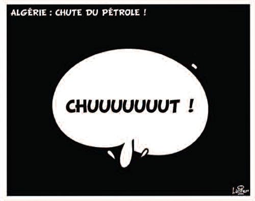 Algérie: Chute du pétrole
