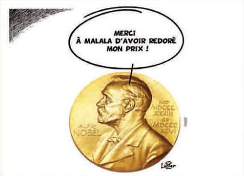 Malala prix nobel de la paix - Vitamine - Le Soir d'Algérie - Gagdz.com