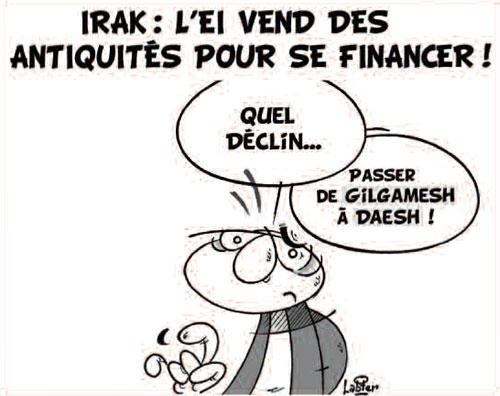 Irak: L'EI vend des antiquités pour se financer - Vitamine - Le Soir d'Algérie - Gagdz.com