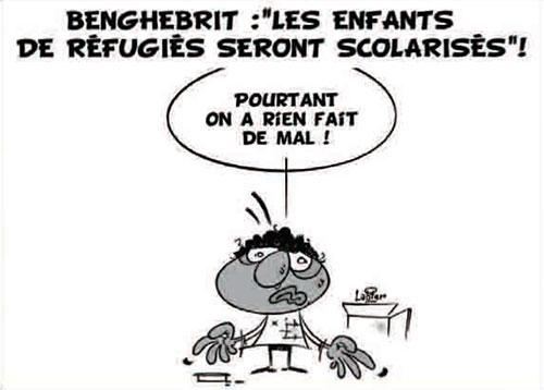 Benghebrit: Les enfants de réfugiés seront scolarisés - Vitamine - Le Soir d'Algérie - Gagdz.com