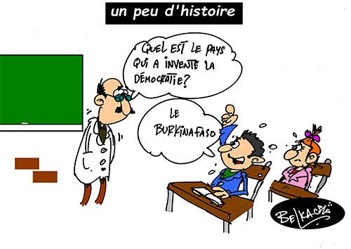Un peu d'histoire - Belkacem - Le Courrier d'Algérie - Gagdz.com