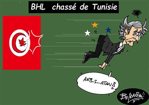 BHL chassé de Tunisie - Belkacem - Le Courrier d'Algérie - Gagdz.com