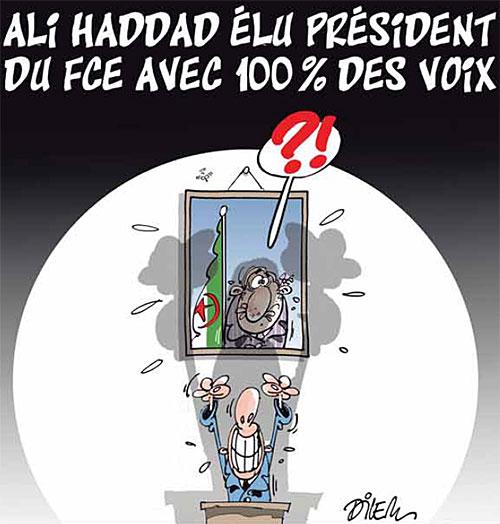 Ali Haddad élu président du FCE avec 100% des voix
