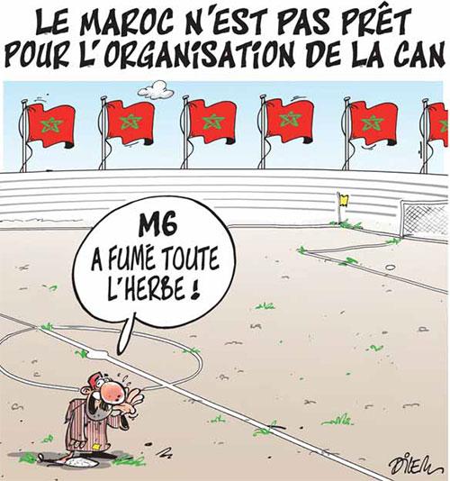 Le Maroc n'est pas prêt pour l'organisation de la CAN