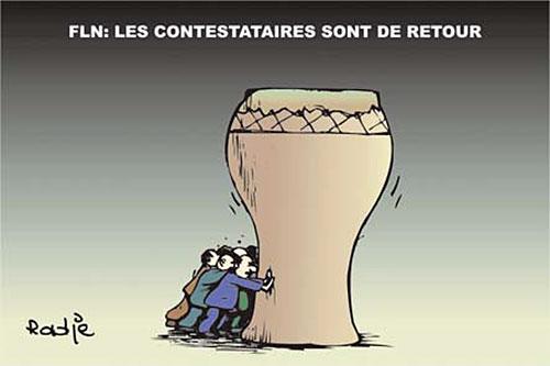 FLN: Les contestataires sont de retour - Ghir Hak - Les Débats - Gagdz.com