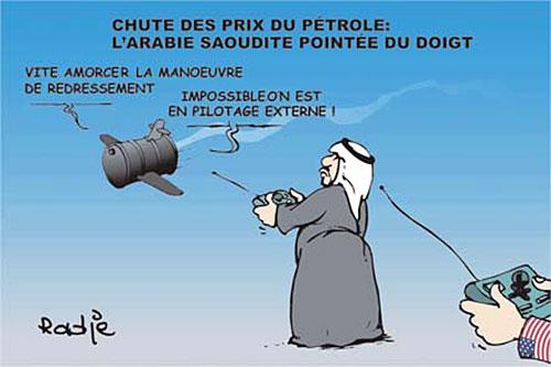 Chute des prix du pétrole: L'Arabie Saoudite pointée du doigt - Ghir Hak - Les Débats - Gagdz.com